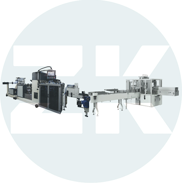 ZK-EVA-PM Fully Automatic Napkin Folder with Auto Transfer and Packing