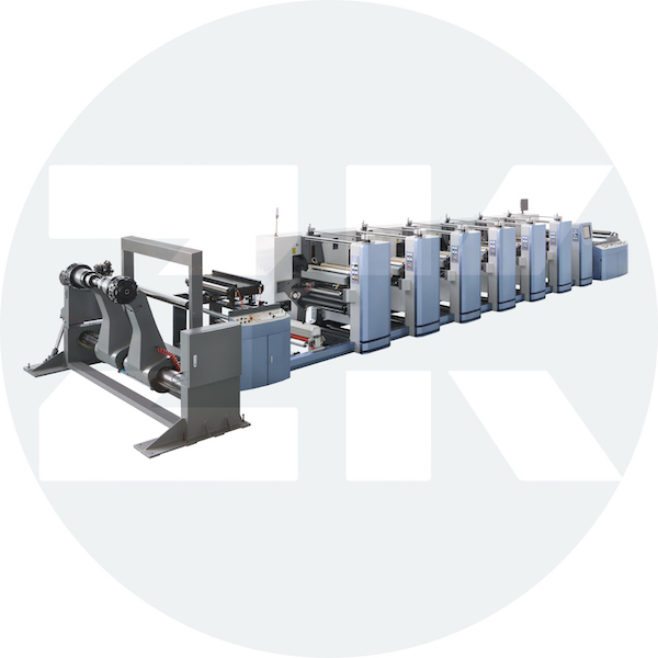 ZM-PC-Pr1050-1350 High Speed Flexo Printing Machine