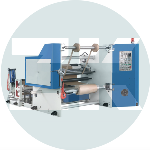 ZKKDM Paper Edge Slitting Rewinder Machine