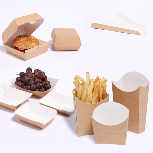 Disposable Paper Food Box