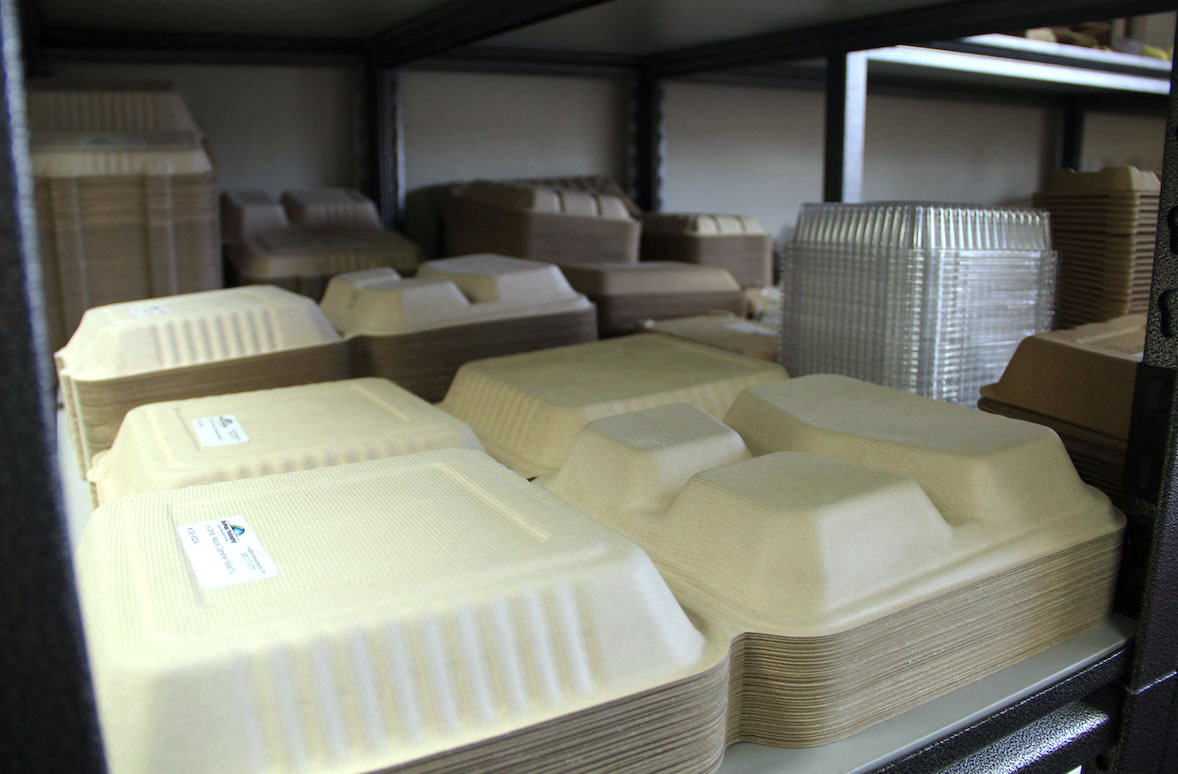 PS Foam Food Container Production