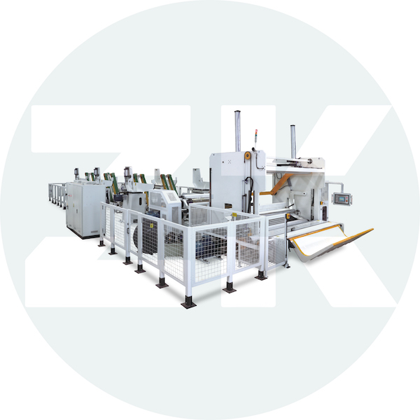 ZK-JD-W High Speed Tissue Slitter Rewinder