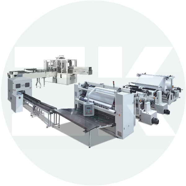 ZM-KM-H Facial Tissue Production Line