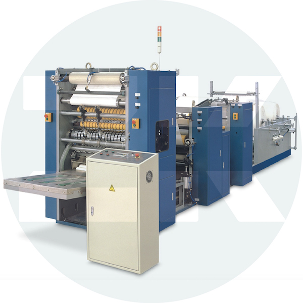 ZM-ZK-3 Three Channel N Folding Machine